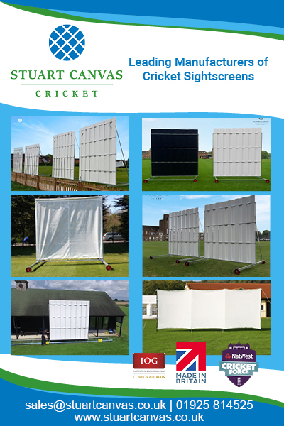 Stuart Canvas Products - Sight Screens width=